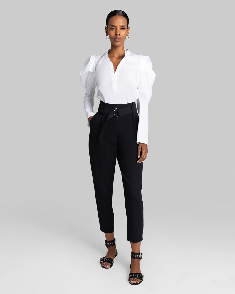 Hudson Poplin Puff Sleeve Top