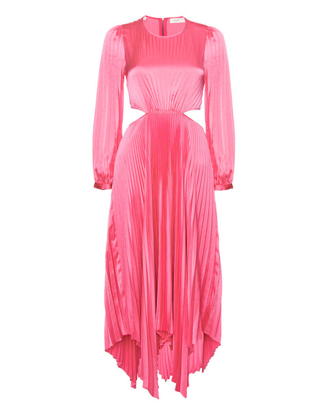 Naples Pleated Dress