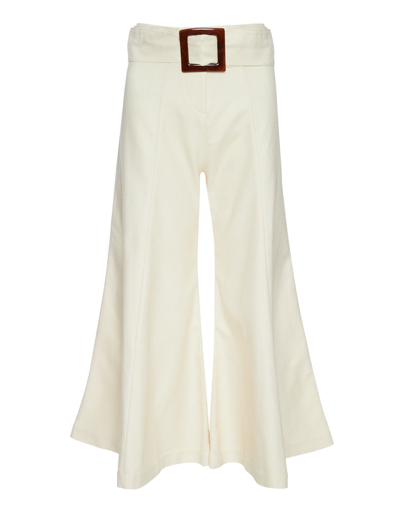 Markos Flared Cropped Trousers- EXTRA 10% OFF AT CHECKOUT