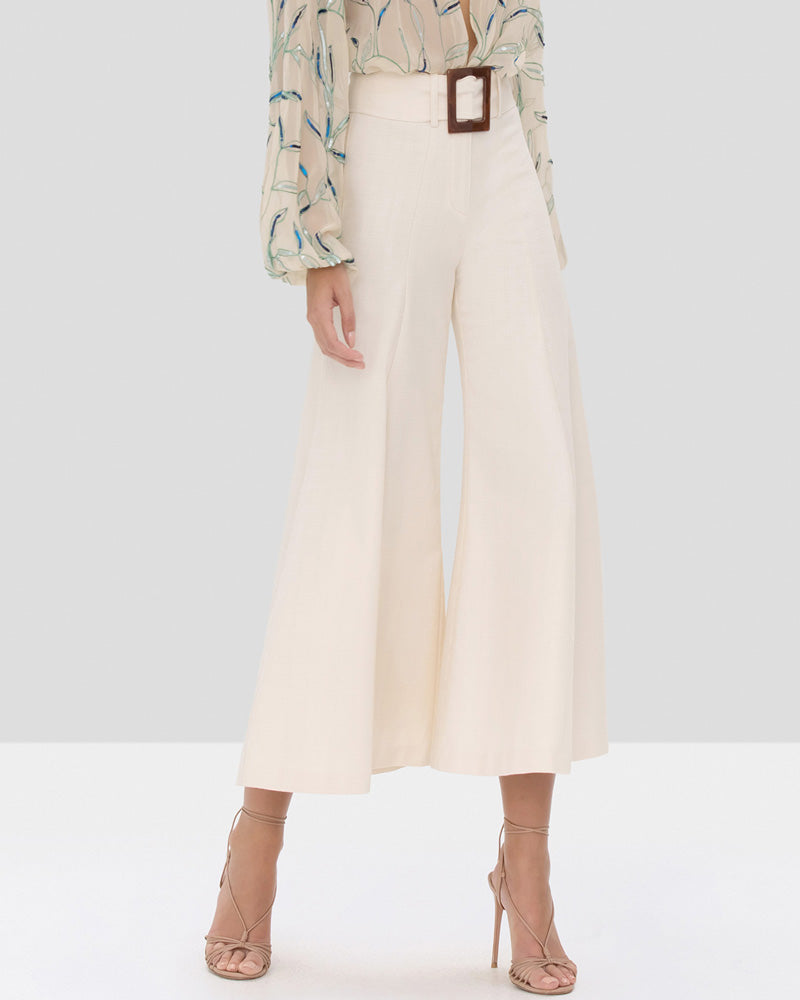Markos Flared Cropped Trousers