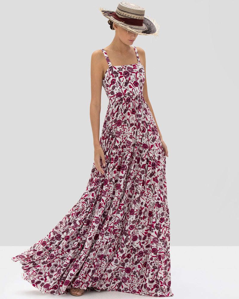 Zofia Floral Maxi Dress