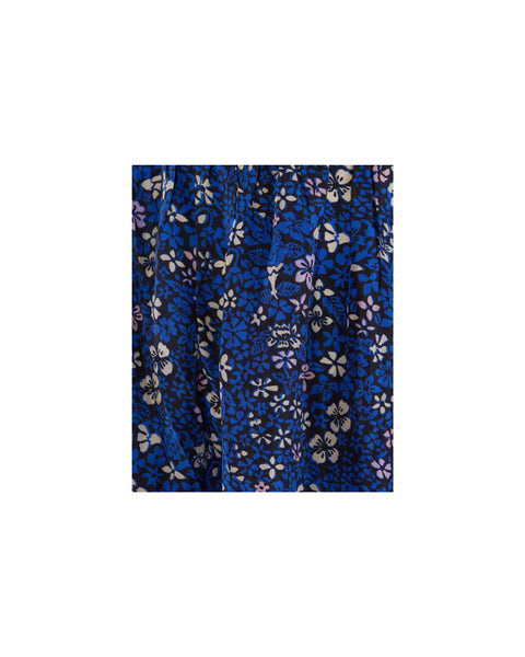 Mitte Floral Print Silk Skirt- EXTRA 10% OFF AT CHECKOUT