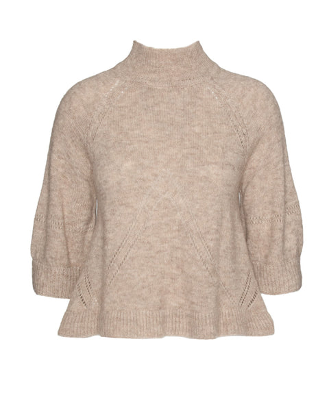 Victoria Mock Neck Knit