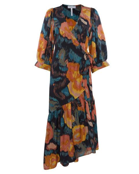 Bougainvillea Wrap Dress- EXTRA 10% OFF AT CHECKOUT