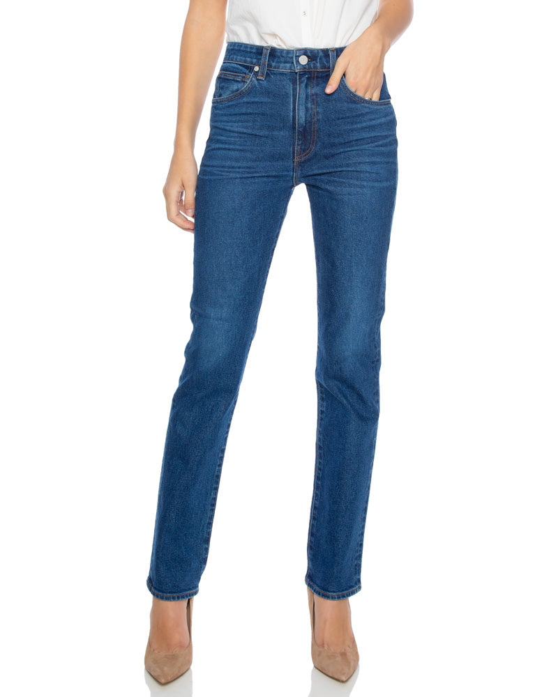 Candid High Rise Straight Leg Jeans