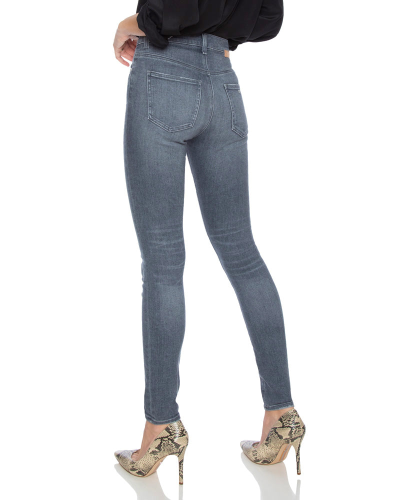 Palme High Rise Skinny Jeans in Heavenly