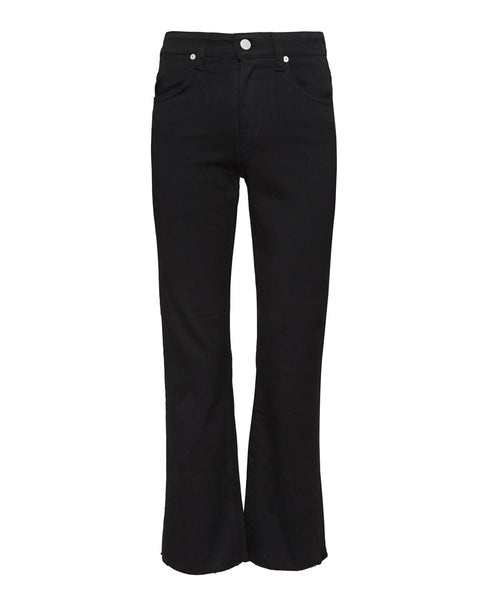 Wes Crop High Rise Crop Bootcut Jeans