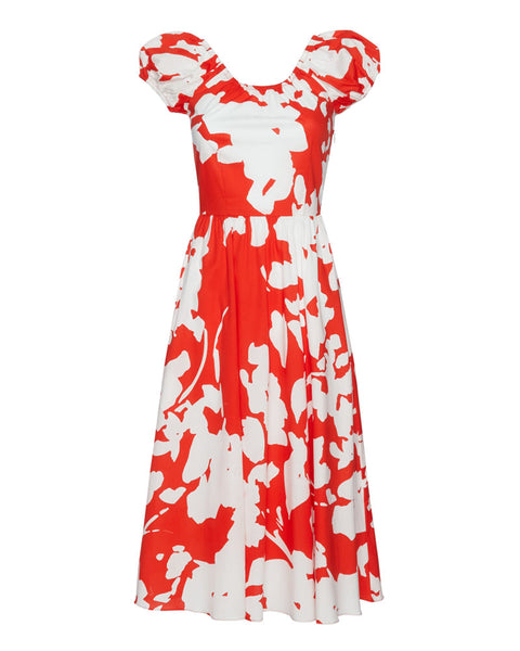 Mariette Floral Midi Dress- EXTRA 10% OFF AT CHECKOUT