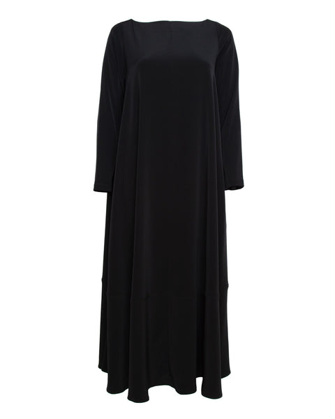 Contrast Hem Caftan Dress