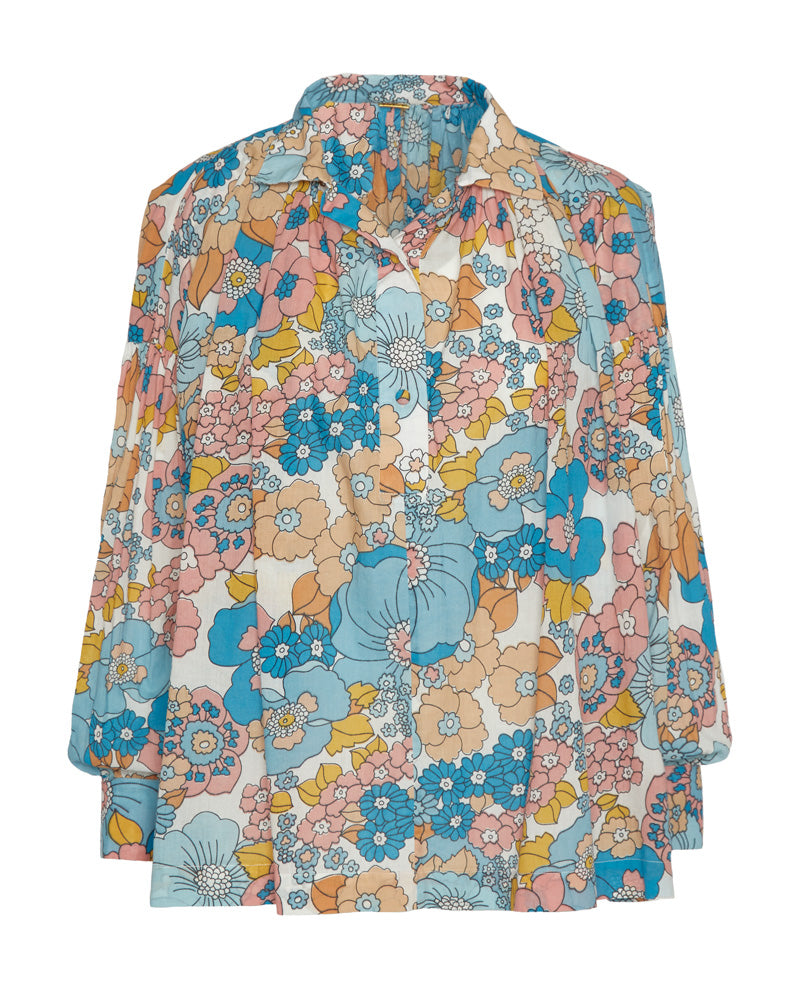 Valerie Floral Cotton Shirt