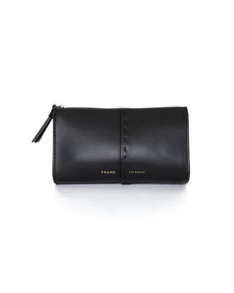 Les Second Crossbody Wallet in Noir