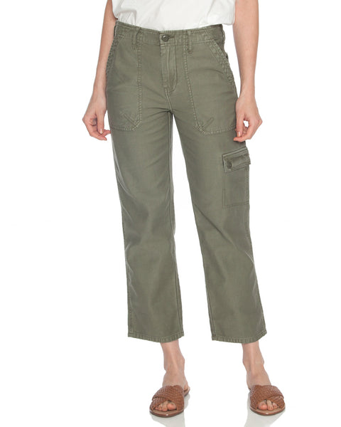 Service Cropped Cargo Pant