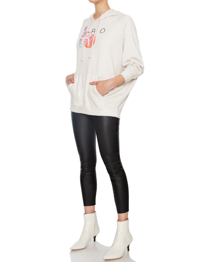 Vision Oversized Hooded Sweatshirt Pink
