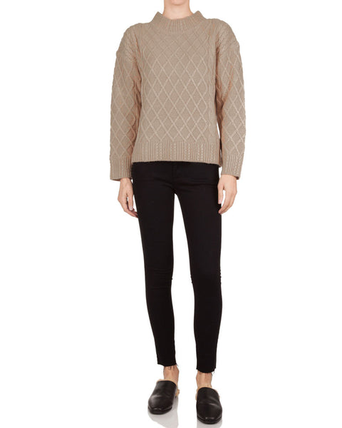 Odom Cable Knit Sweater