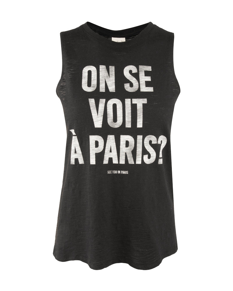 See you In Paris Muscle Tee