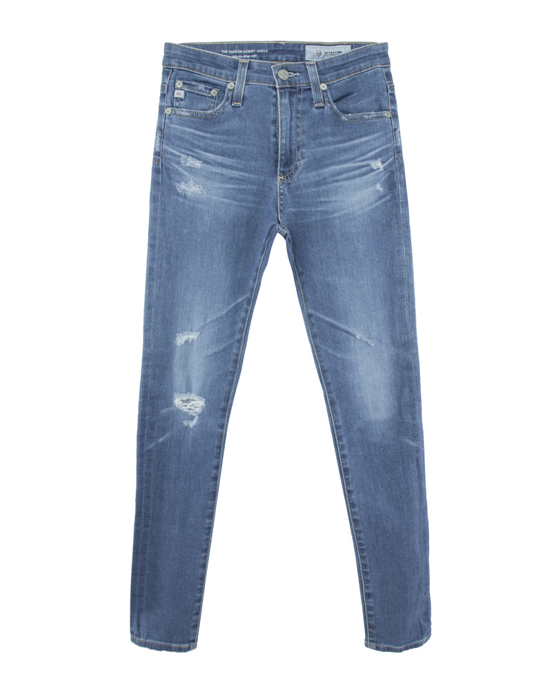 Farrah Skinny Ankle-14 Years Blue Nile Destructed