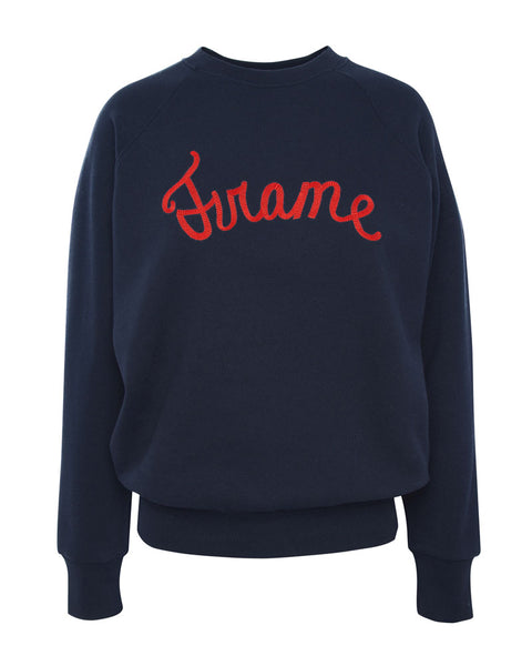Old School Sweatshirt-Fall Navy