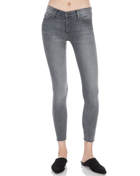 Noah Ankle Raw Hem Skinny Jean Overshadow
