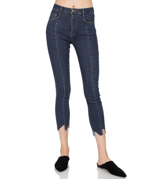 Cut Edge Skinny Pants