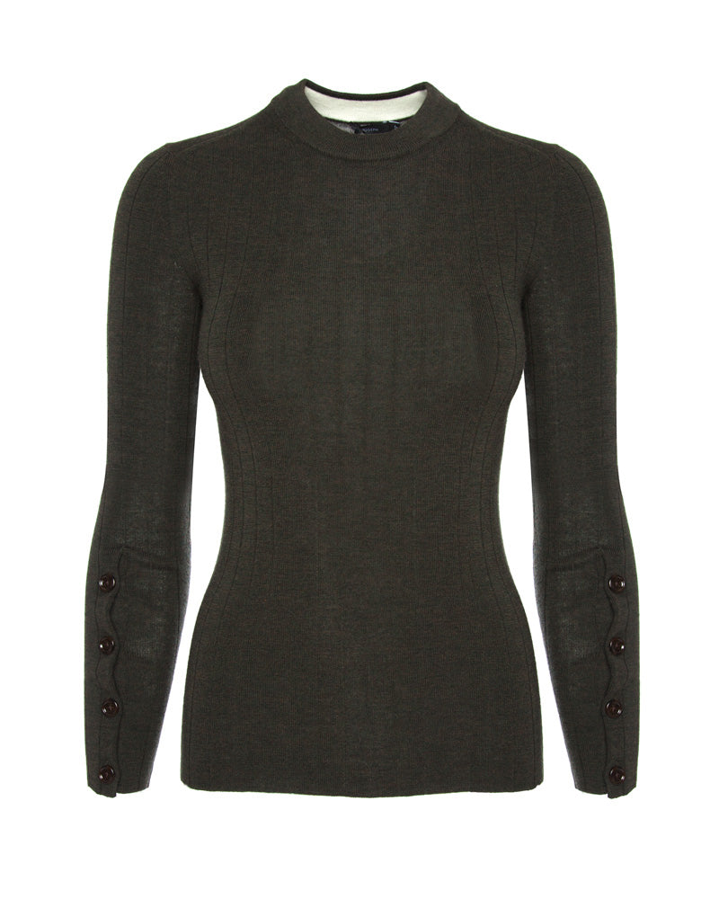 Long Sleeve Fine Merino Knit