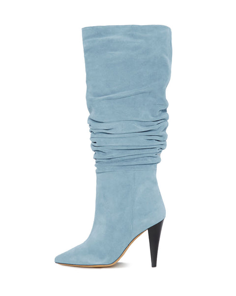 Bailey Ruched Suede Boot