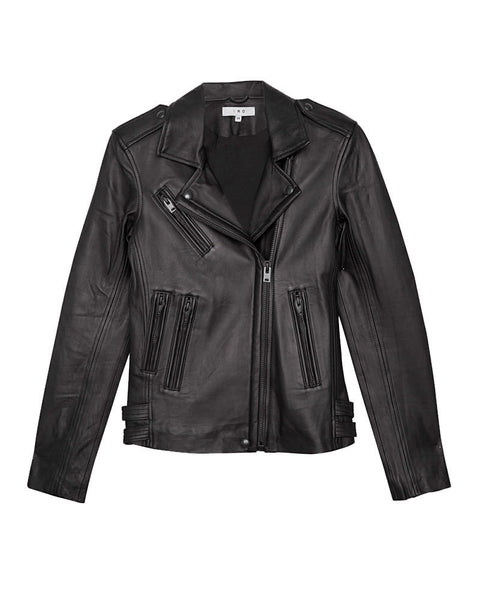 Han Leather Jacket Black