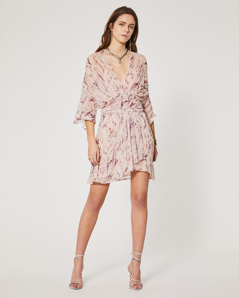 Pommie Silk Mini Dress