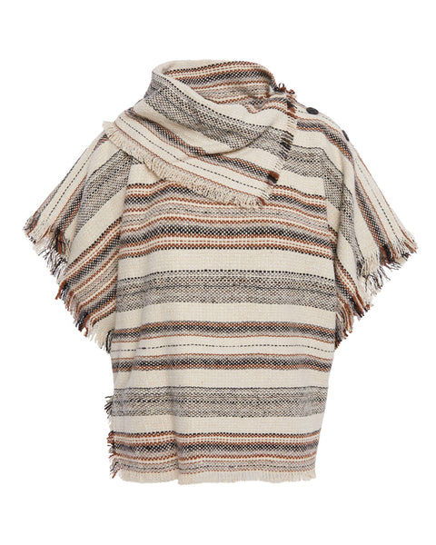 Jacoya Striped Tweed Top
