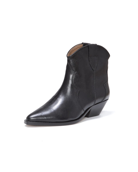Dewina Leather Ankle Boots
