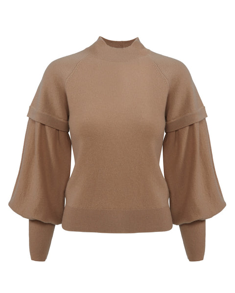 Mackenzie Cashmere Long Sleeve Sweater