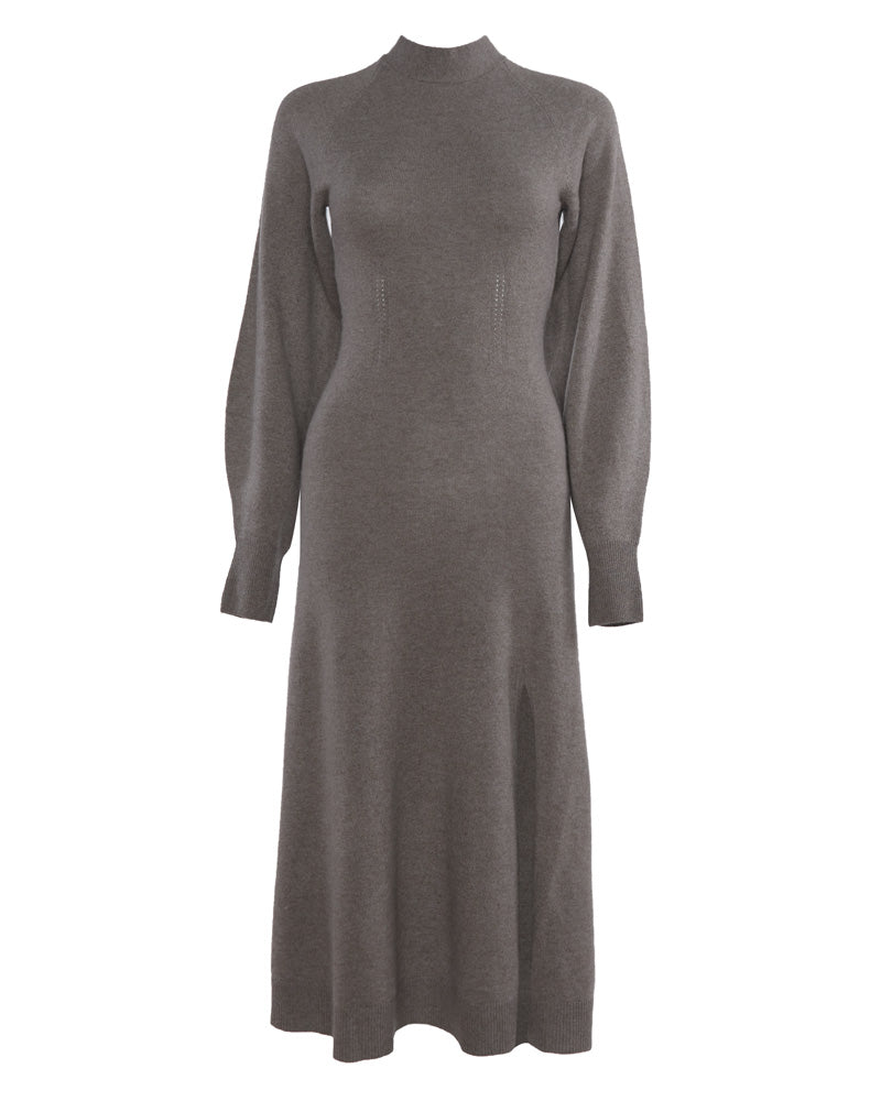 Brielle Cashmere Long Sleeve Dress