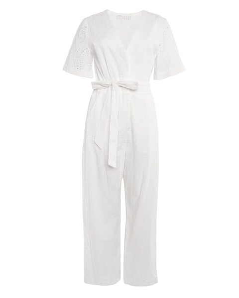 Louise Borderie Anglaise Belted Jumpsuit