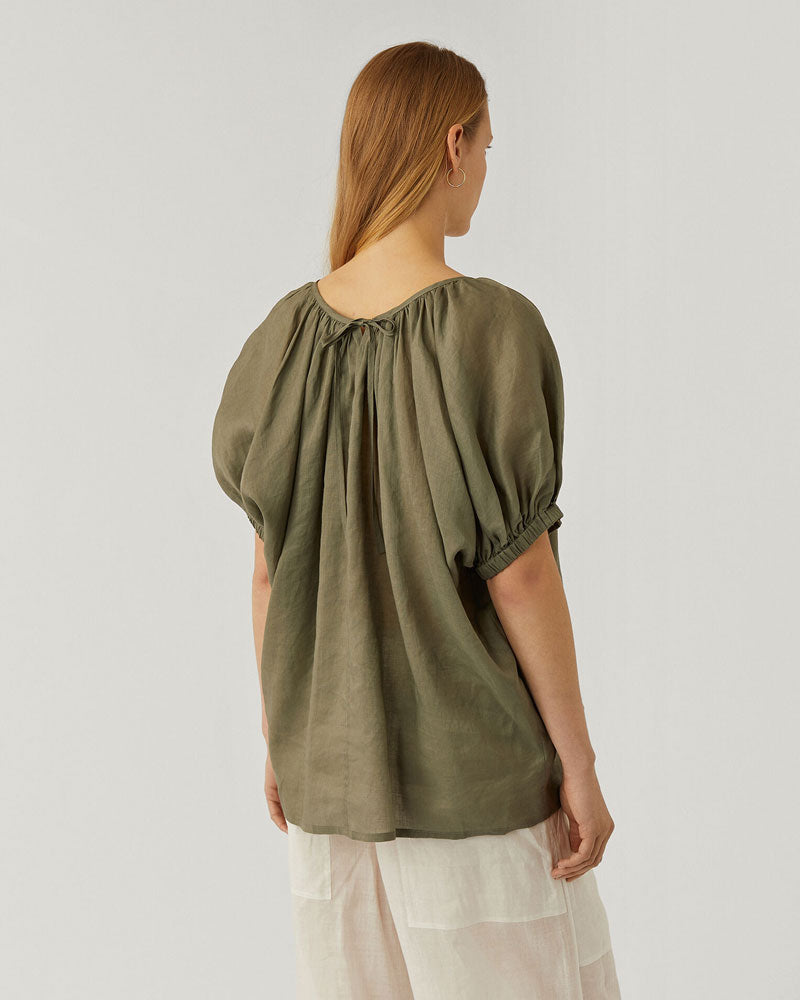 Baidy Ramie Voile Top - 25% OFF TRAVEL EDIT