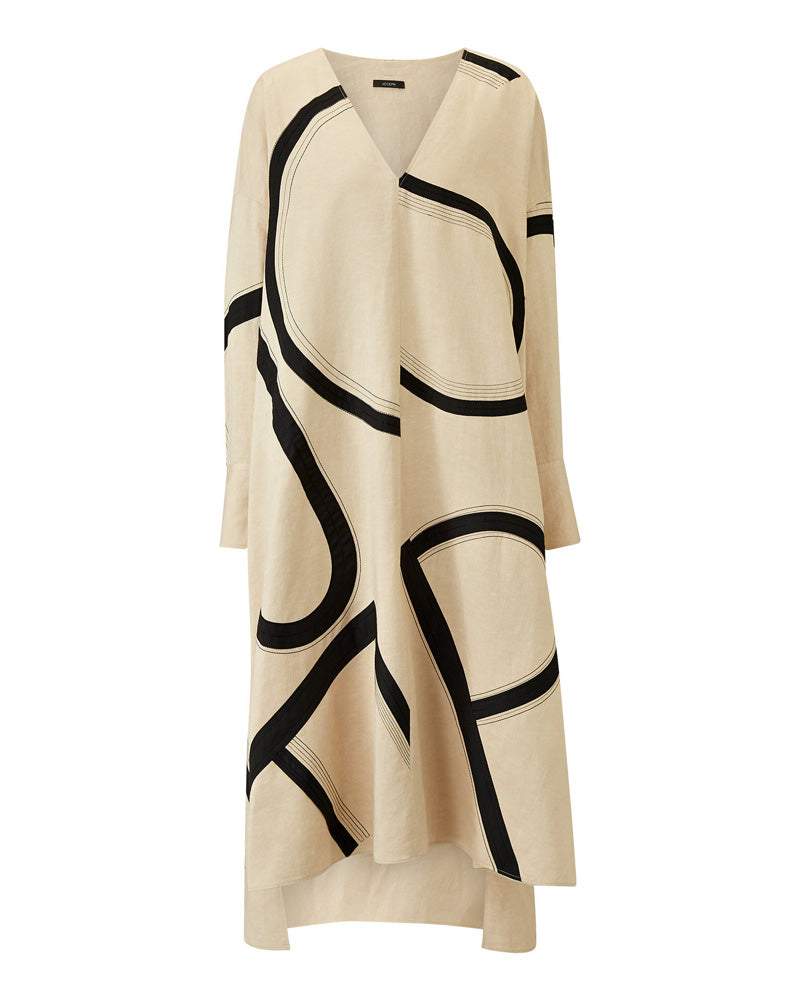 Dalamo-Poplin Blanket Dress