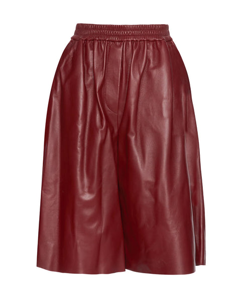 Tomy Nappa Leather Shorts