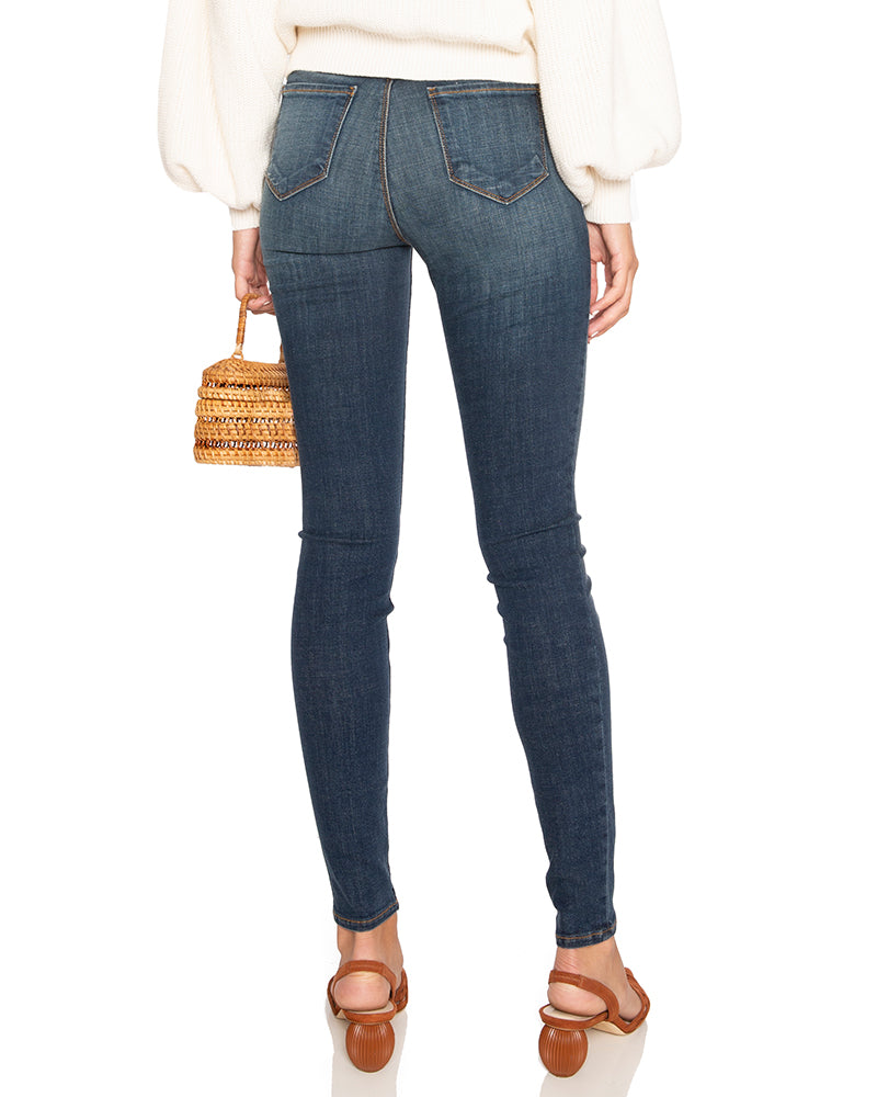 Marguerite High Rise Skinny Jeans in Moonseed