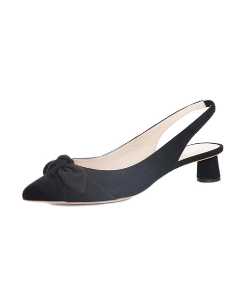 Laura Slingback Pump with Bow