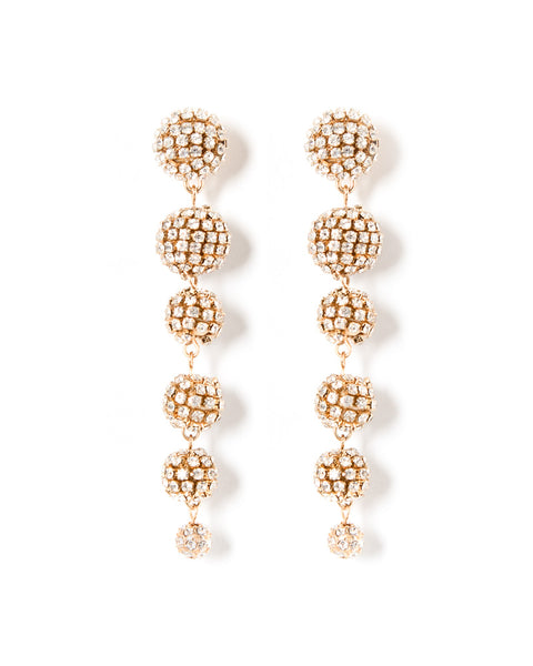 Belle Diamonte Drop Earrings