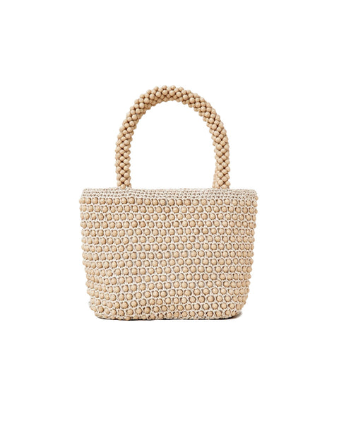 Mina Beaded Mini Tote