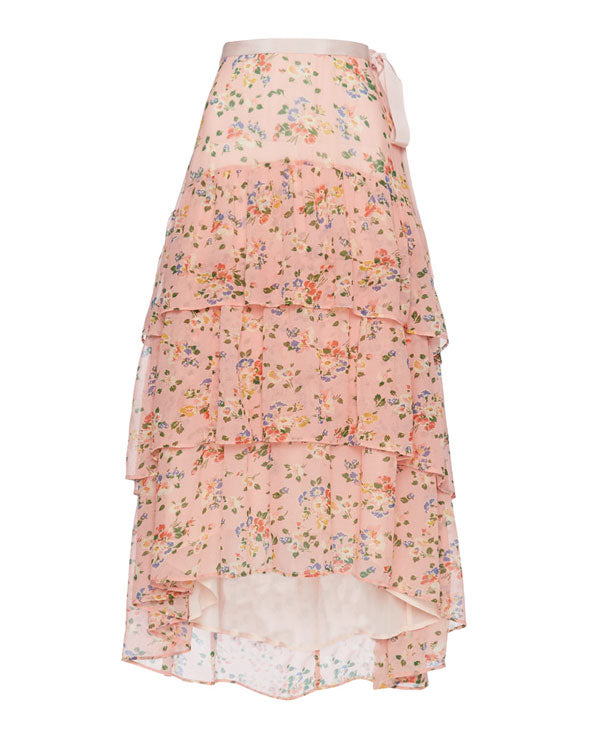 Adonis Silk Midi Skirt- EXTRA 10% OFF AT CHECKOUT