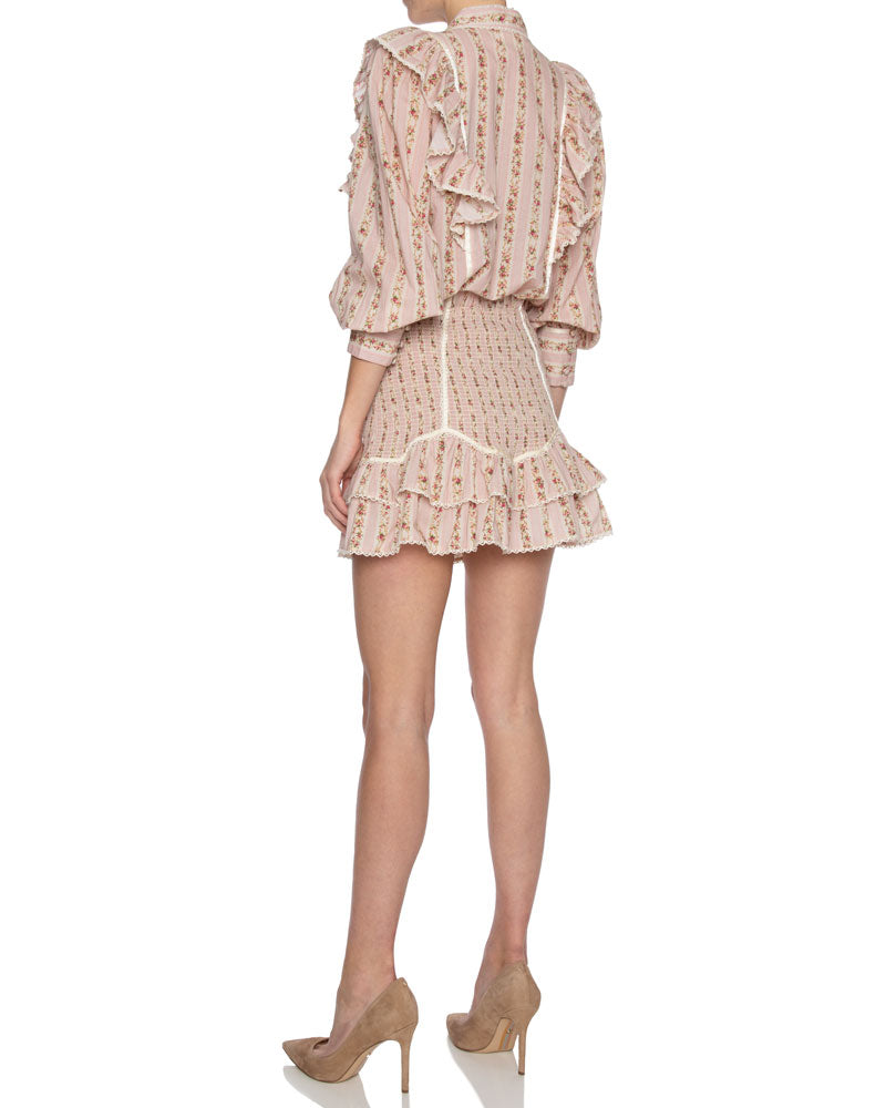 Beatrix Ruffled Long Sleeve Top