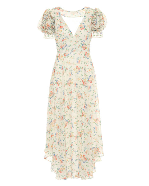 Clemence Dress in Floral Confetti