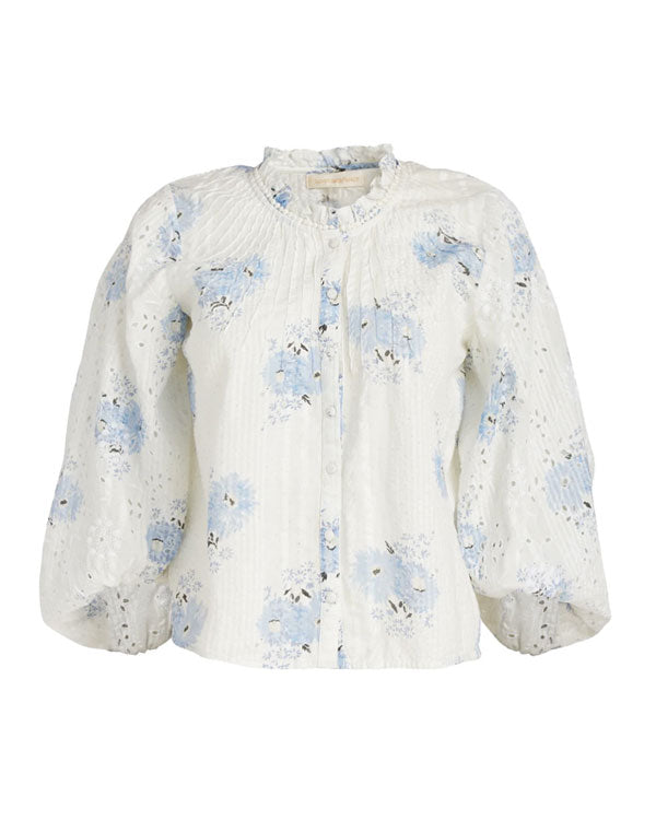 Spectra Floral Print Top