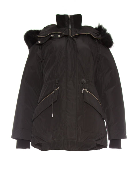 Katryn Fur Hood Down Jacket