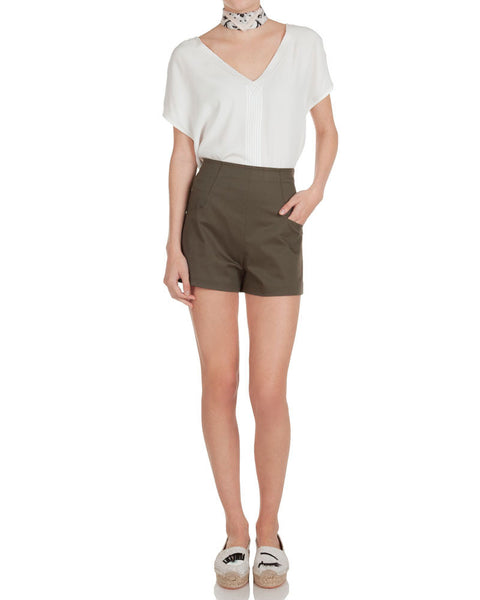 Cotton Drill Tailored Short
