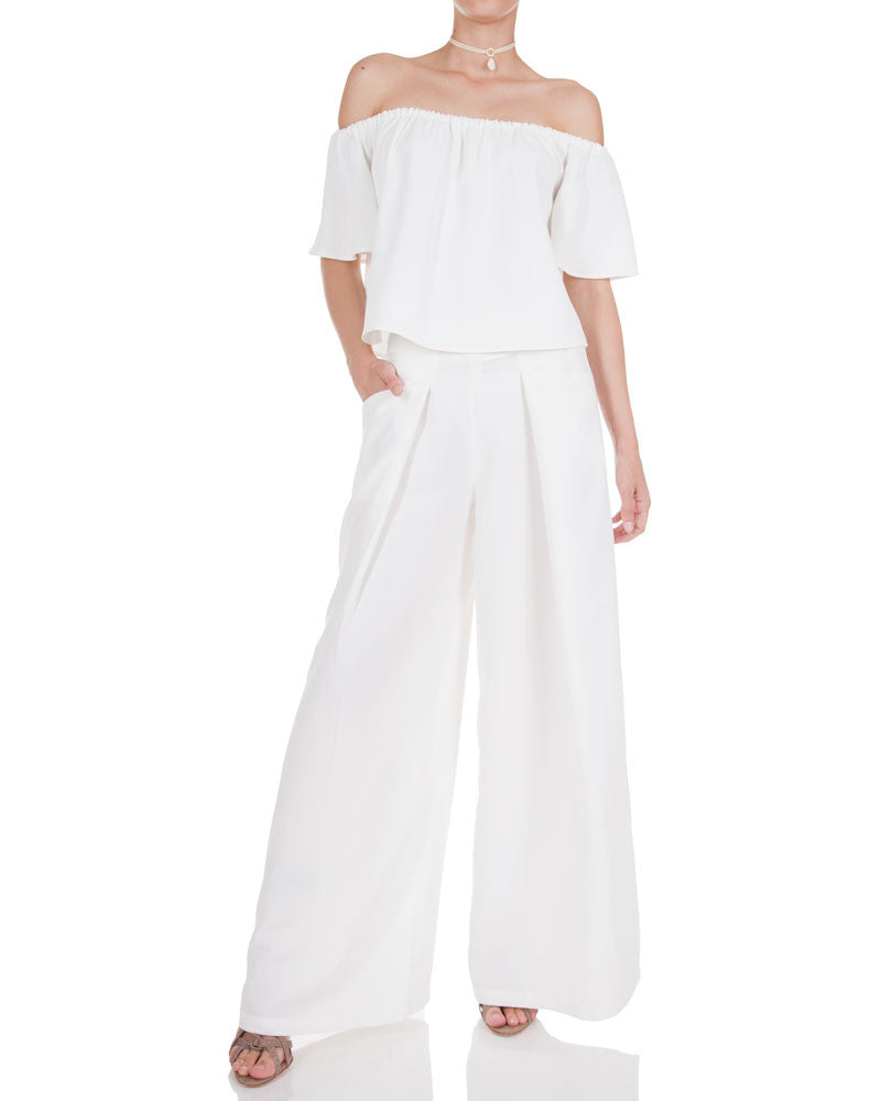 Cold Shoulder Pant