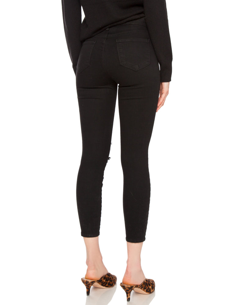Margot High Rise Skinny with Holes