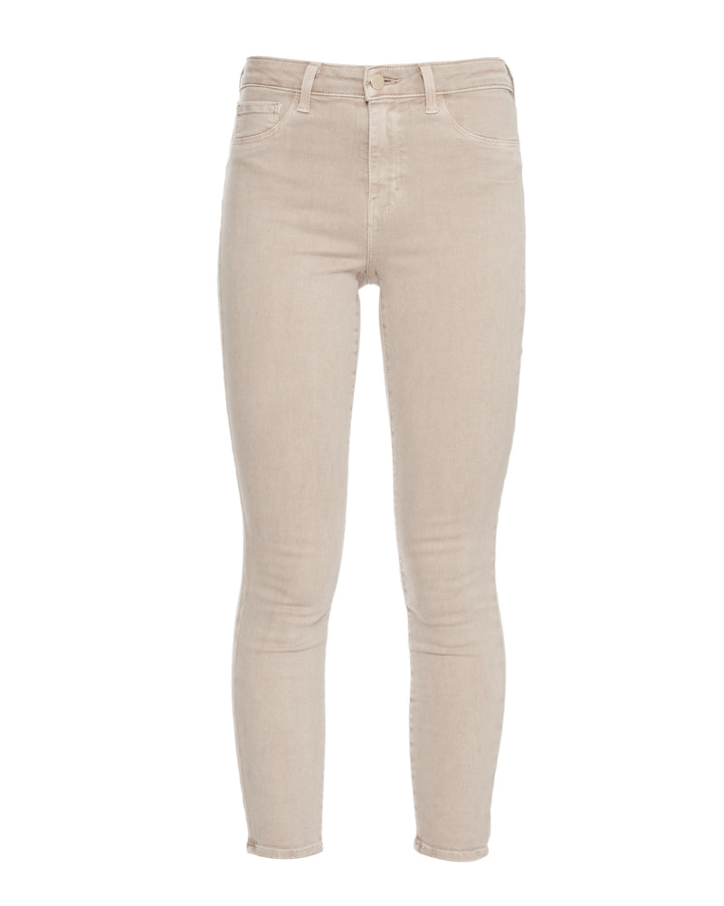 Margot High Rise Skinny in Biscuit