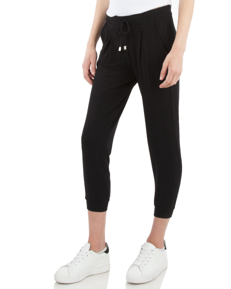 Jogger Pant With Front Pleat