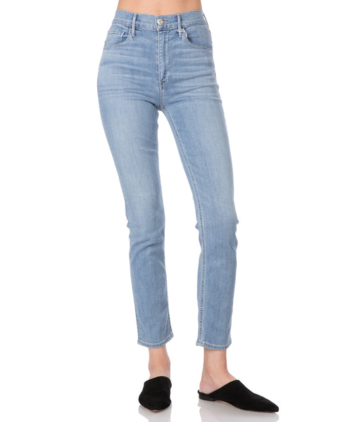 W4 Colette Slim Crop High Waist Jean in Carlo